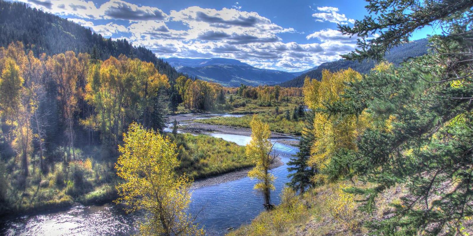 Image of the Conejos River in Colorado
