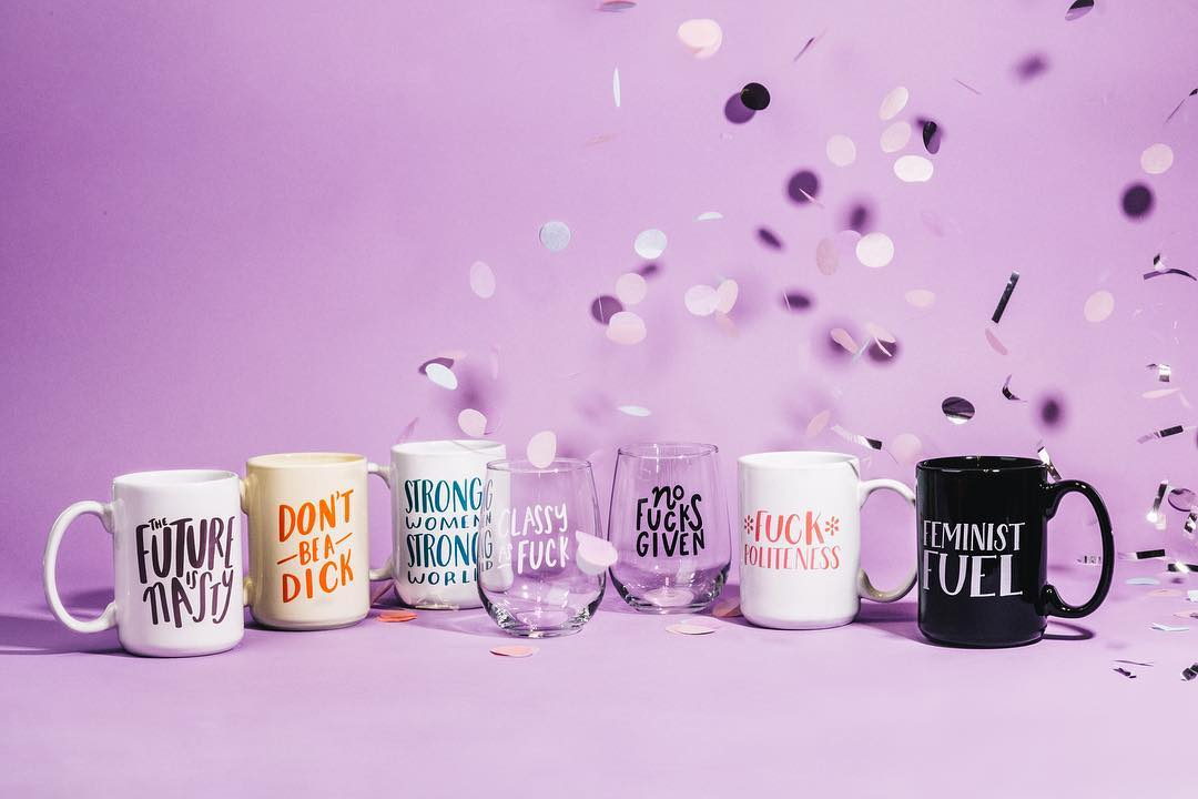 Image of some of Craft Boner's mugs and glasses