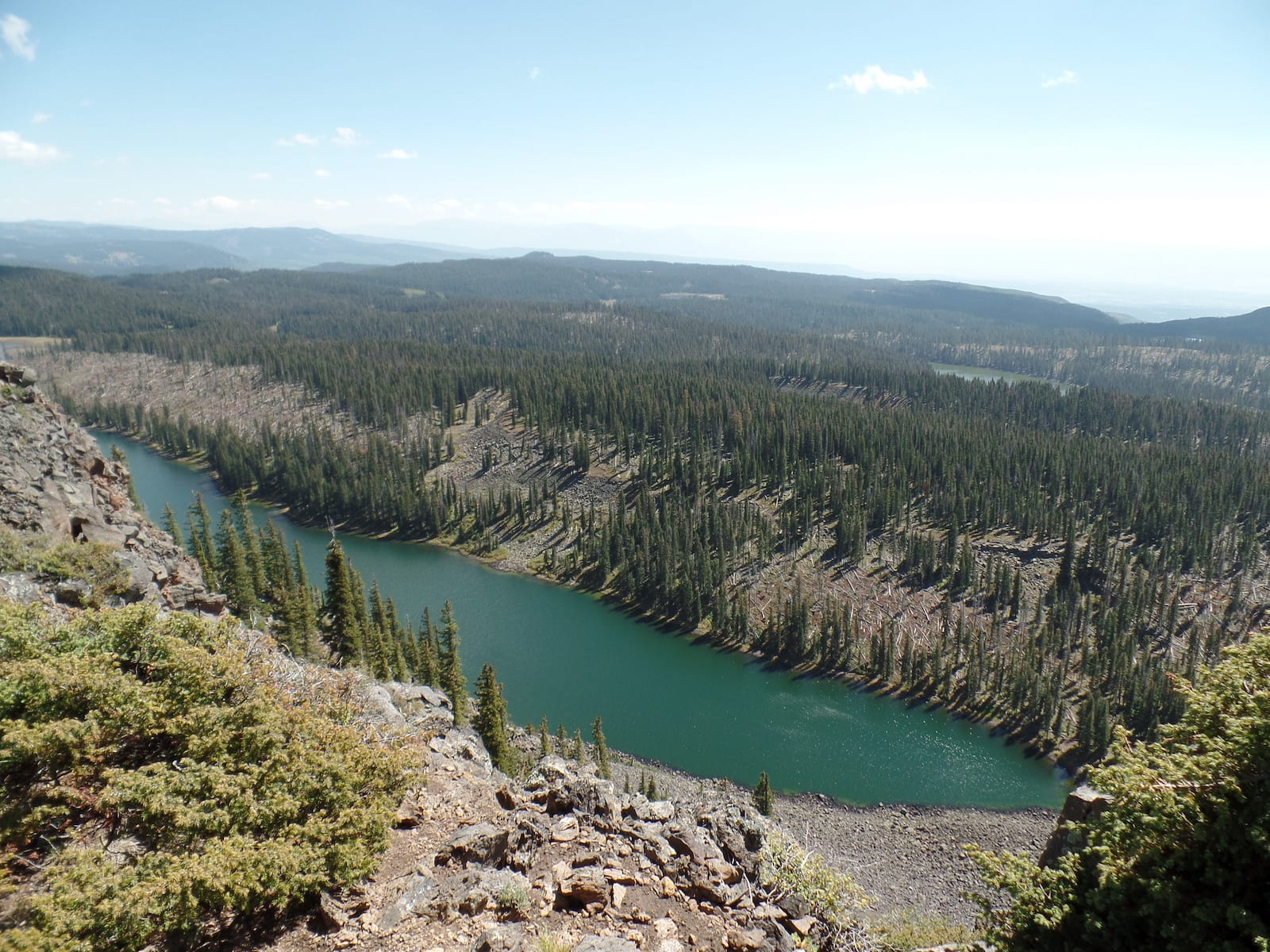 Crag Crest Trail Hiking Colorado