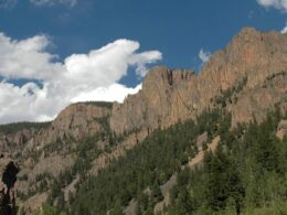 Image of mountain scenery near Creede, Colorado