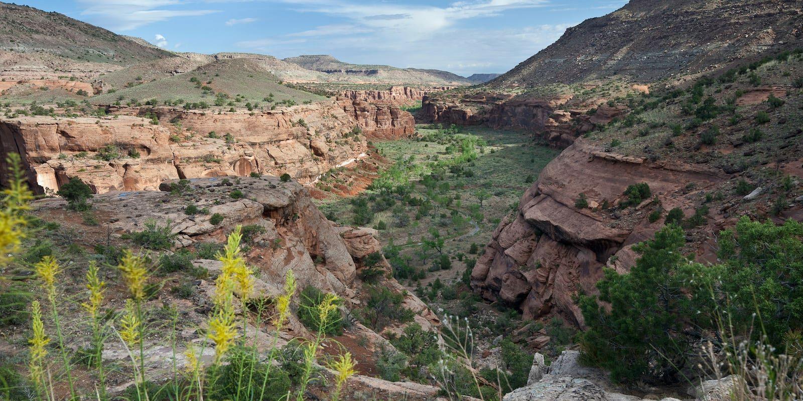 Dominguez-Escalante NCA Hiking Delta Colorado