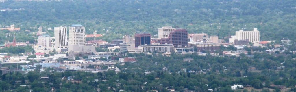 Downtown Colorado Springs Skyline