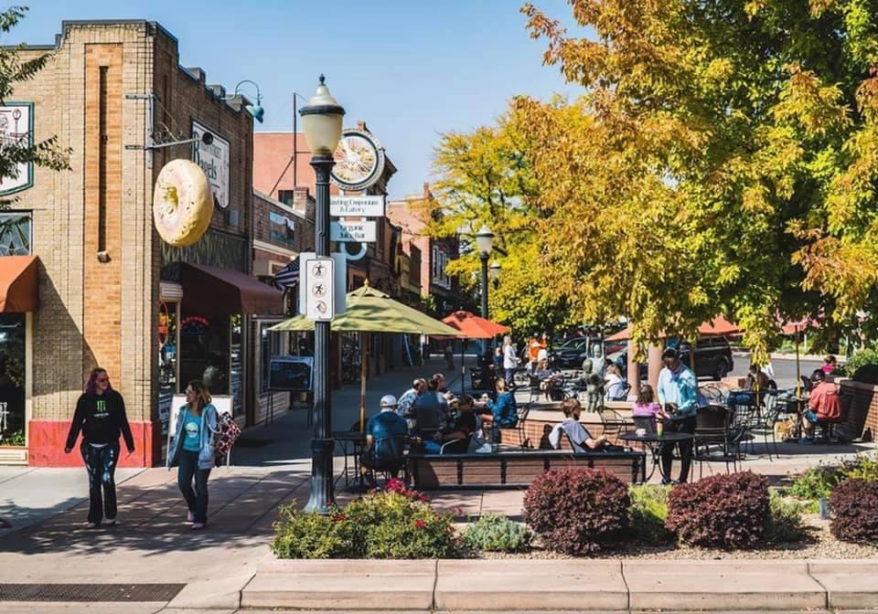 gambar dari pusat kota grand junction