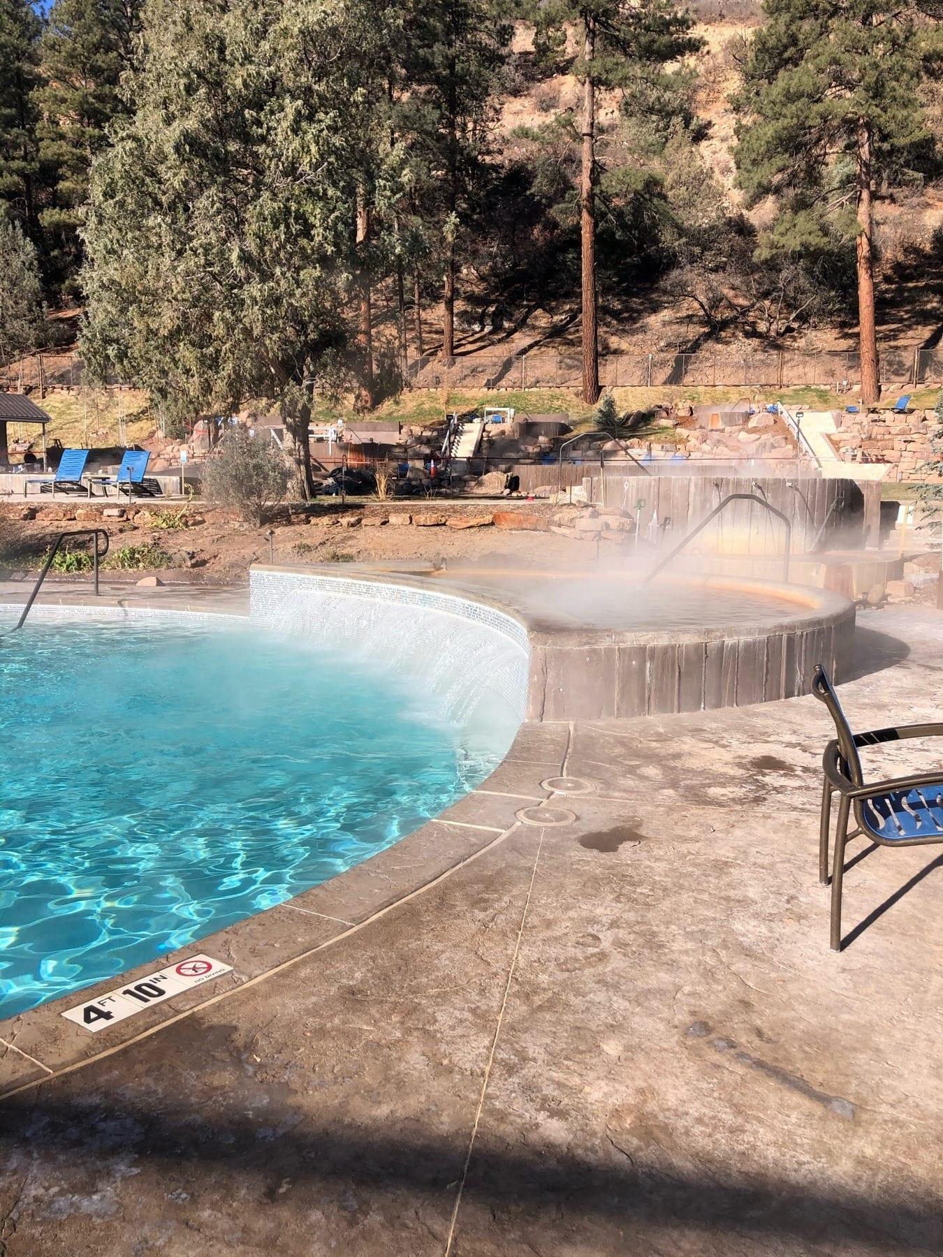 image of durango hot springs