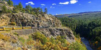 image of train in durango