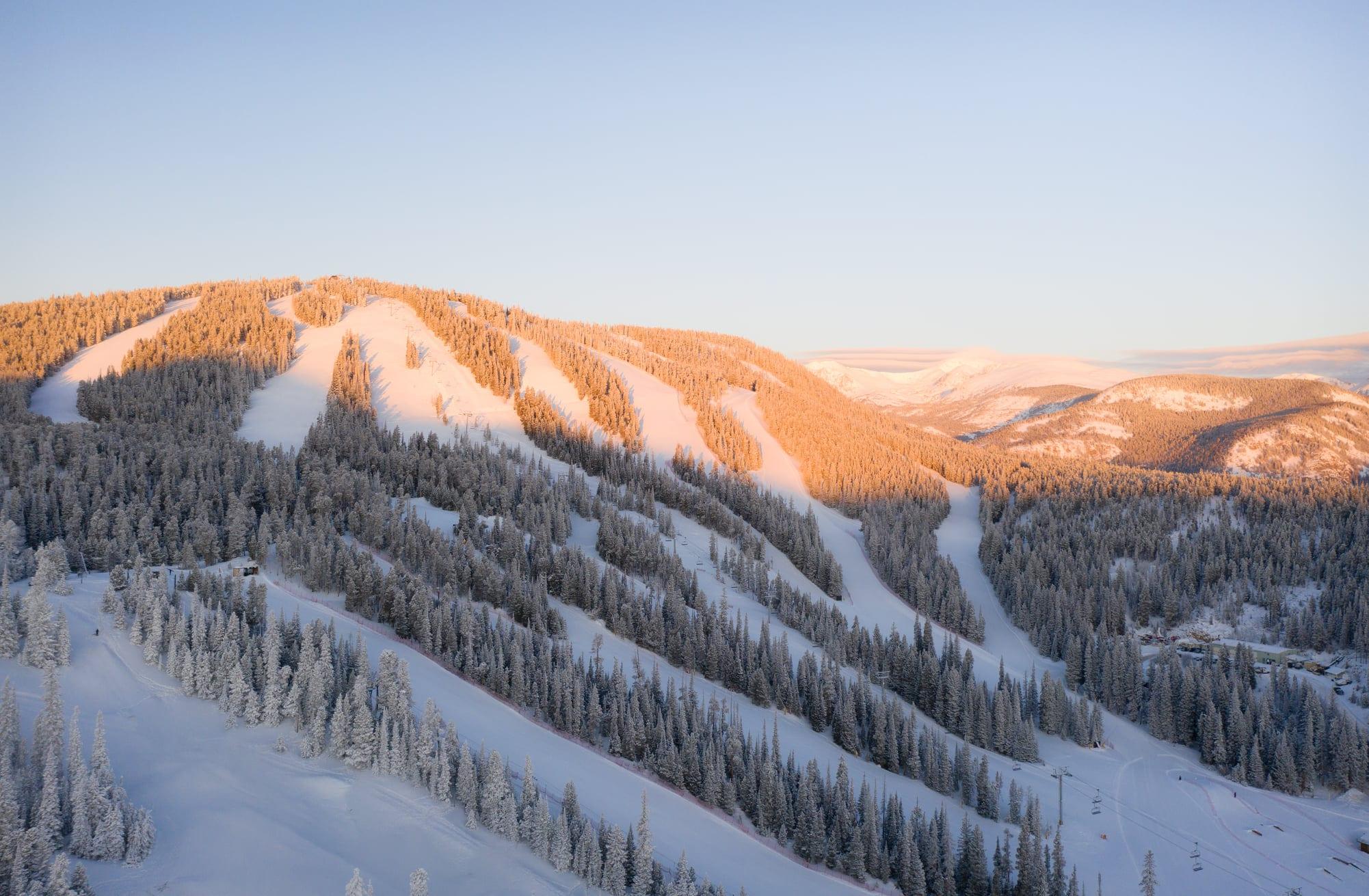 image of ski runs at eldora