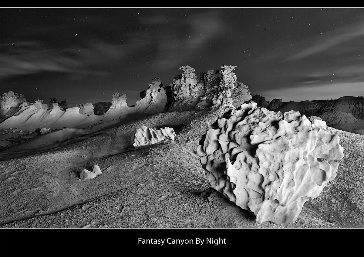 Fantasy Canyon Utah Night