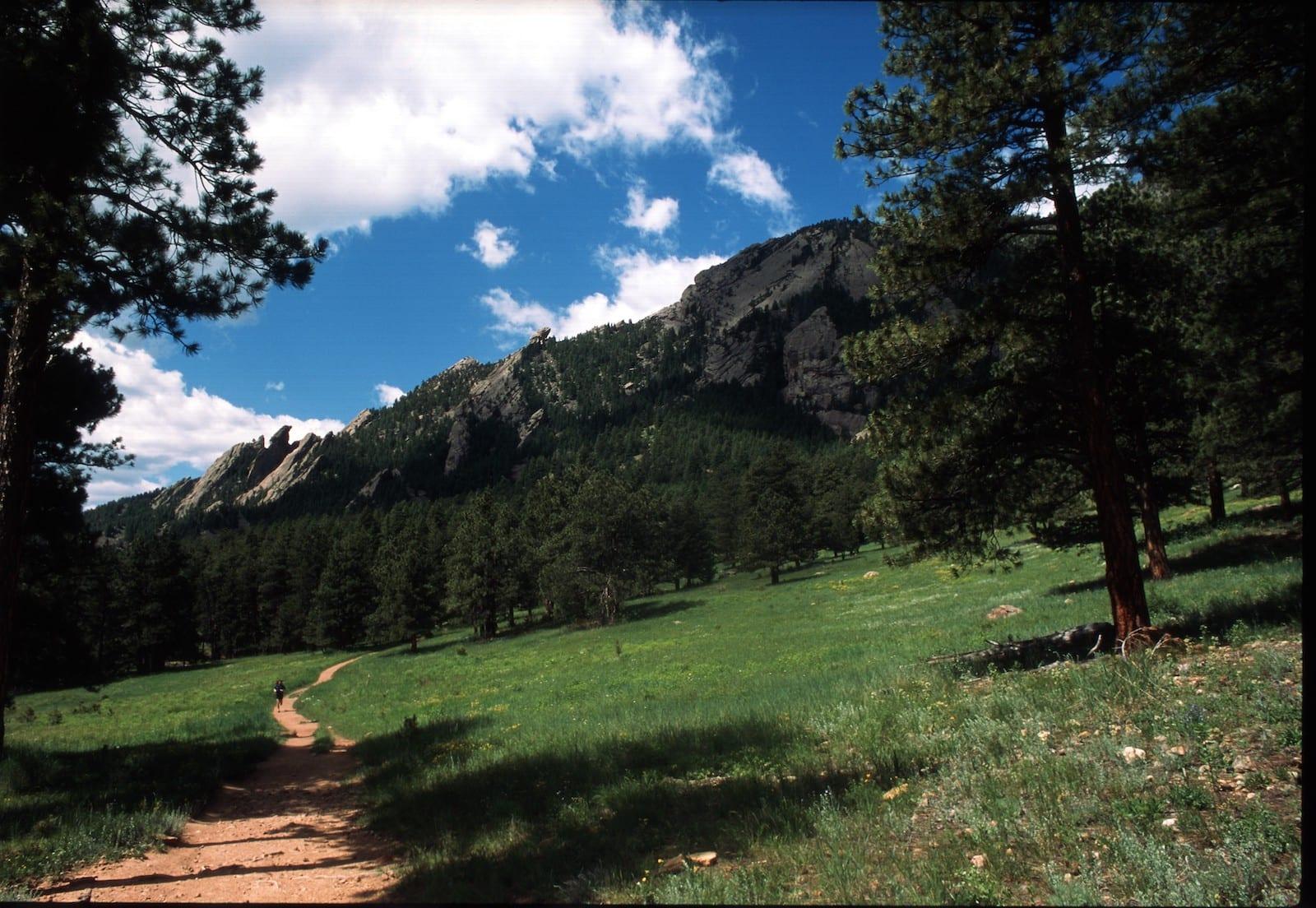 Flatirons Vista Trail Boulder Colorado