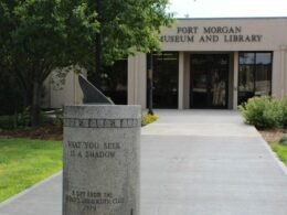 Image of the outside of the Fort Morgan Public Library & Museum in Colorado