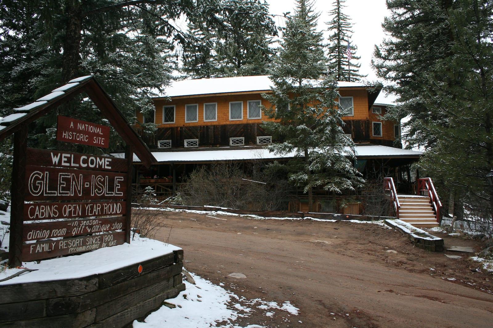 Glen Isle Resort Bailey Colorado