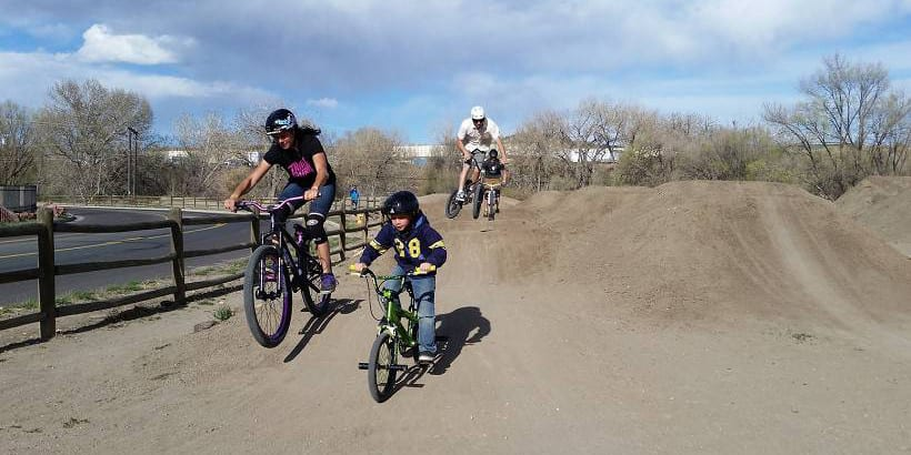 Image of bikers at Gossage Youth Sports Complex - Colorado Springs, Colorado