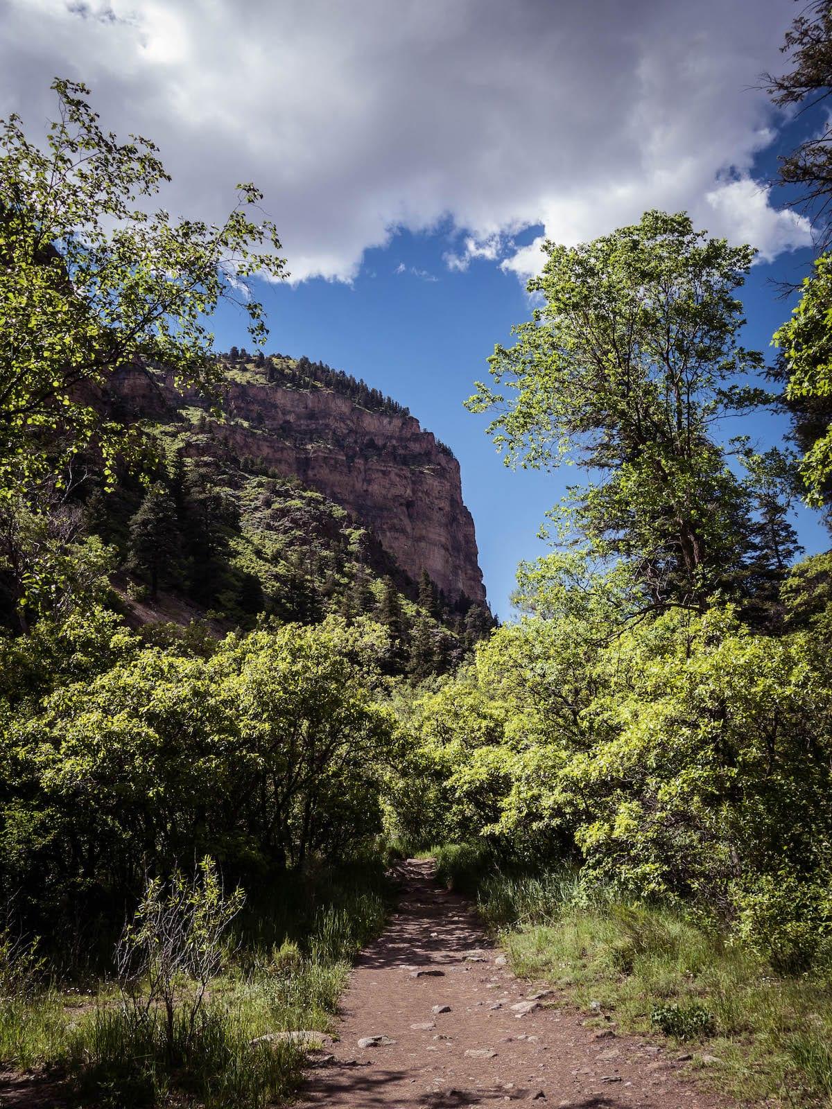 Grizzly Creek Trail Glenwood Canyon Colorado