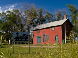 Image of the Grover Depot Museum in Grover, Colorado
