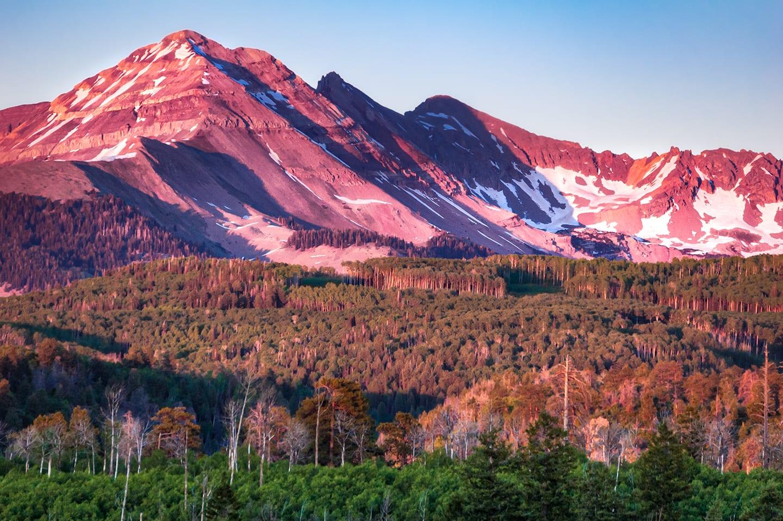 Hesperus Peak Sunset Colorado