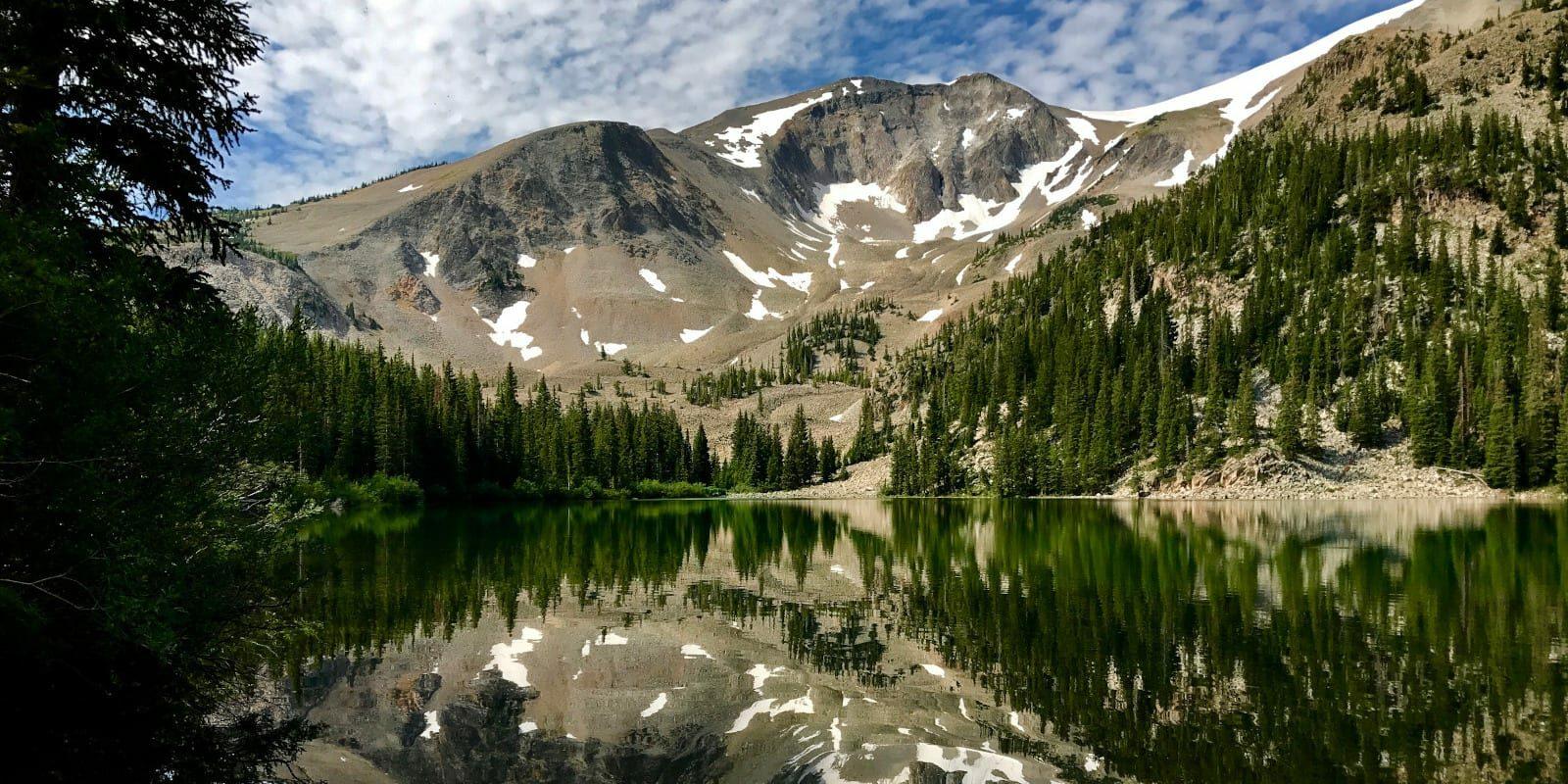 Hiking Carbondale CO Lower Thomas Lake Mount Sopris