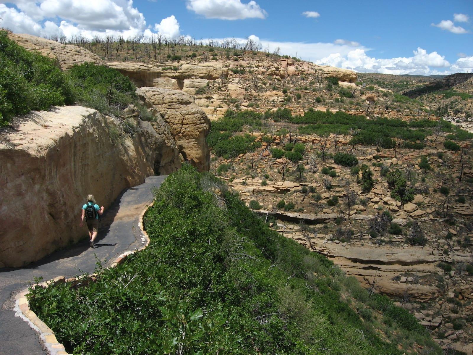 Hiking Step House Wetherhill Mesa Mesa Verde National Park