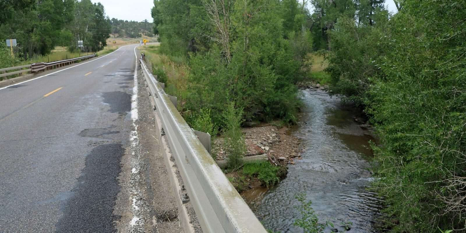 Image of the La Plata River at Highway 140 in Colorado