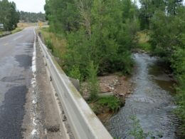 Image of the La Plata River at Highway 140 in Colorado