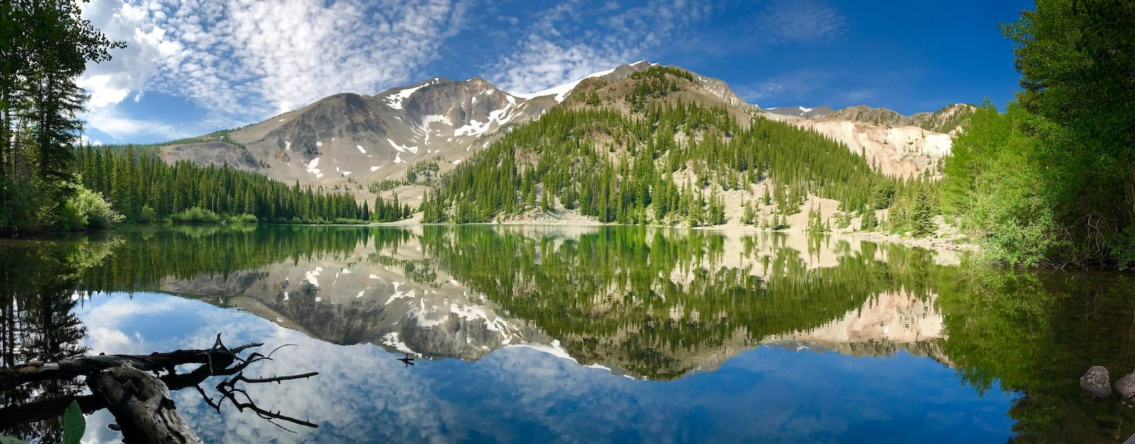 Danau Thomas Bawah Gunung Sopris
