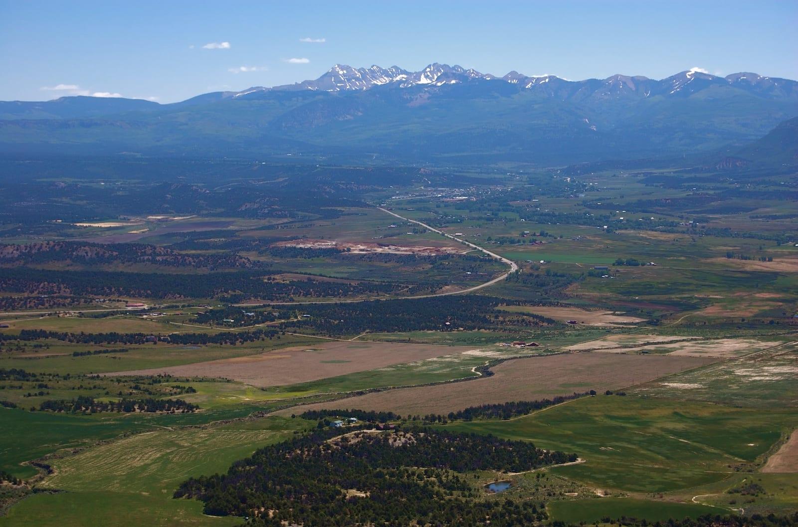 Mancos Colorado Aerial View