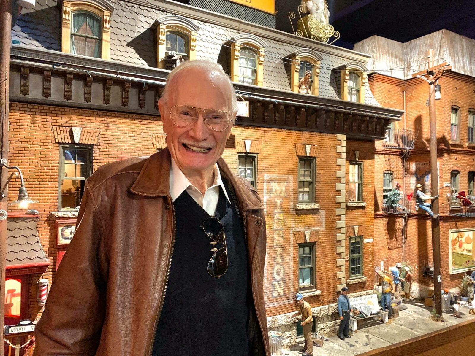 Image of Michael Garman in the Michael Garman Museum & Gallery in Colorado Springs, Colorado