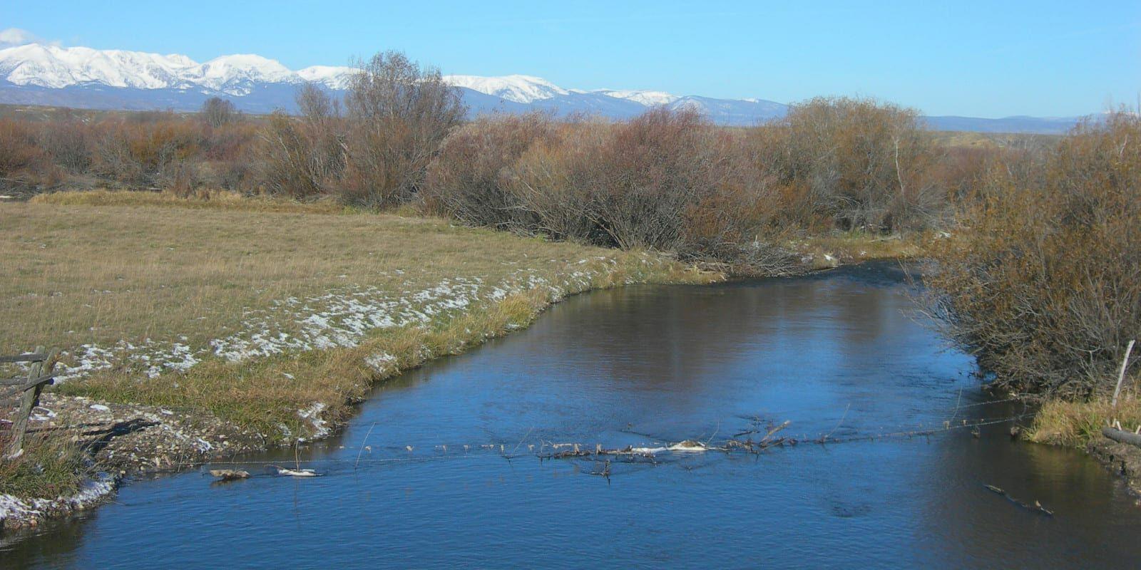 Image of the Michigan River in Colorado