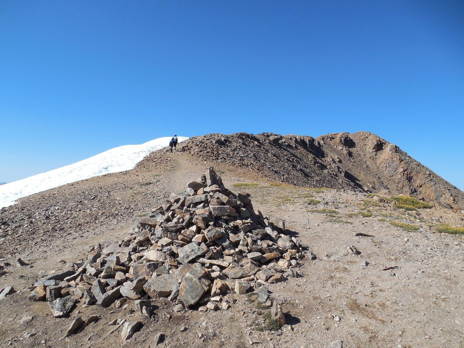 Mount Elbert Hiking Trail Junction Colorado