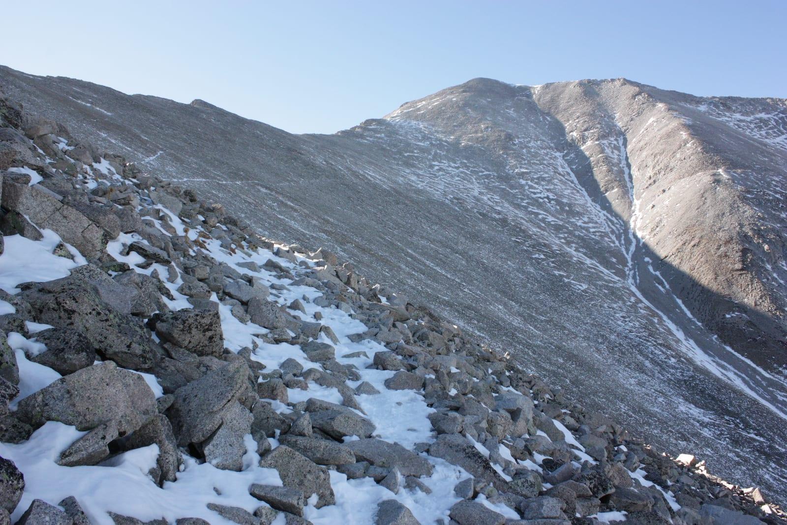 Mount Princeton Hiking Trail Crest Ridge