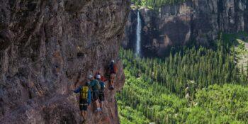 Mountain Trip Rock Climbing Telluride Via Ferrata