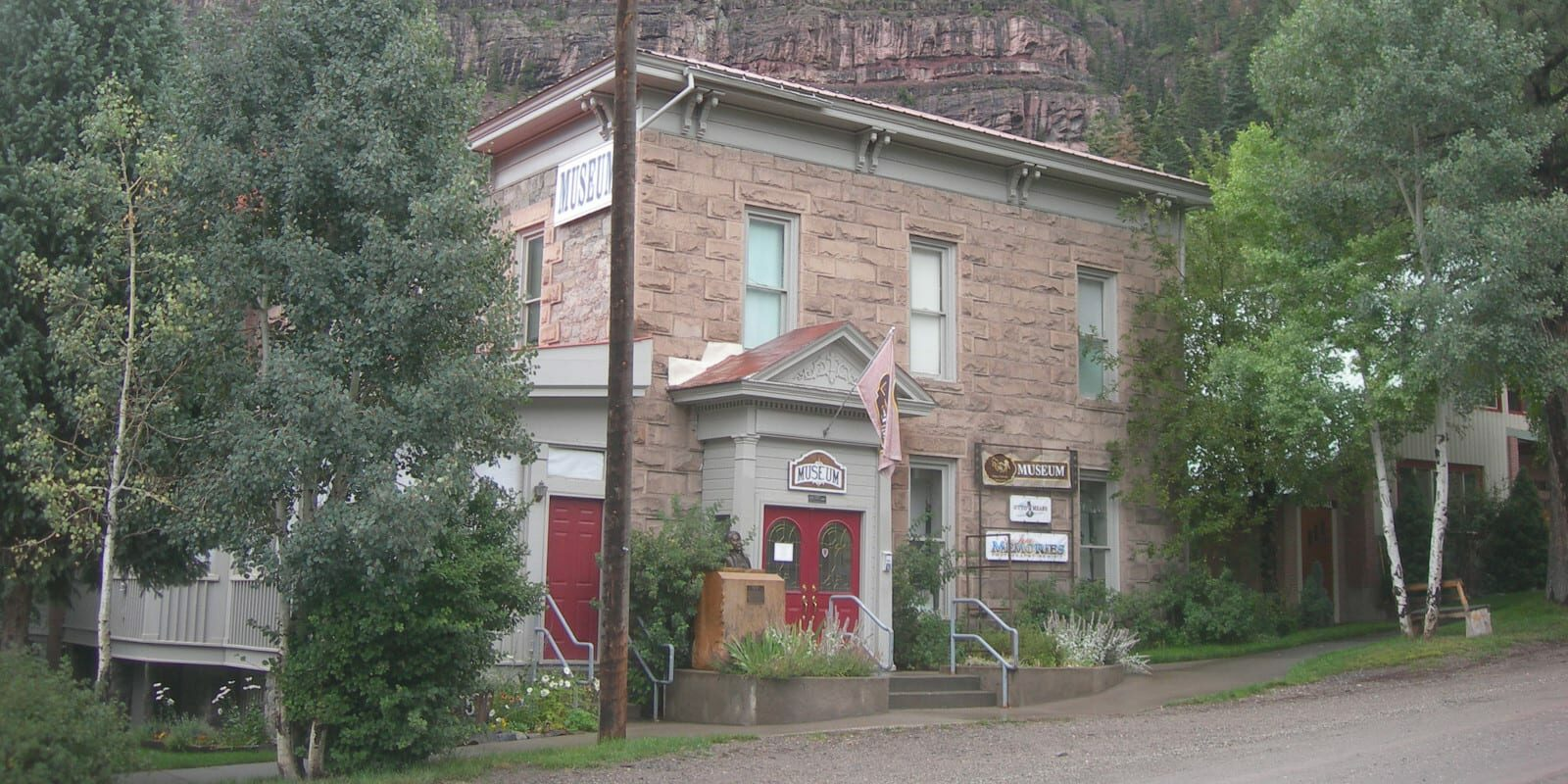 Image of the Ouray County Museum in Ouray, Colorado