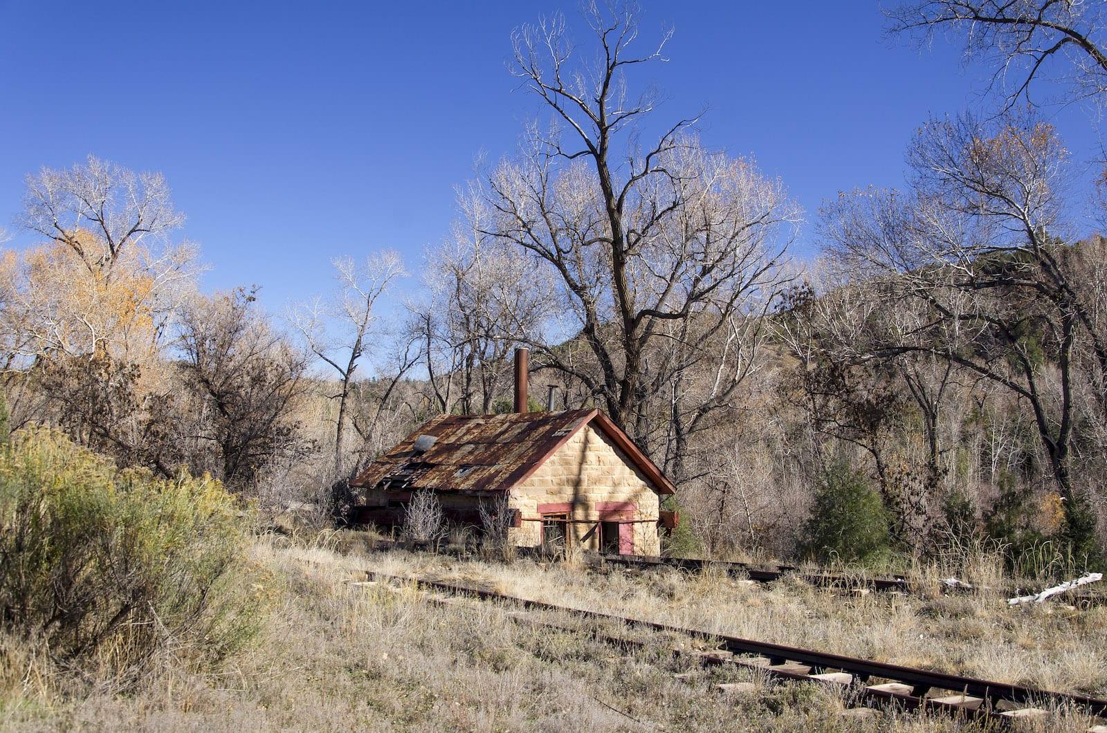 Pagosa Junction Colorado Old Pump House