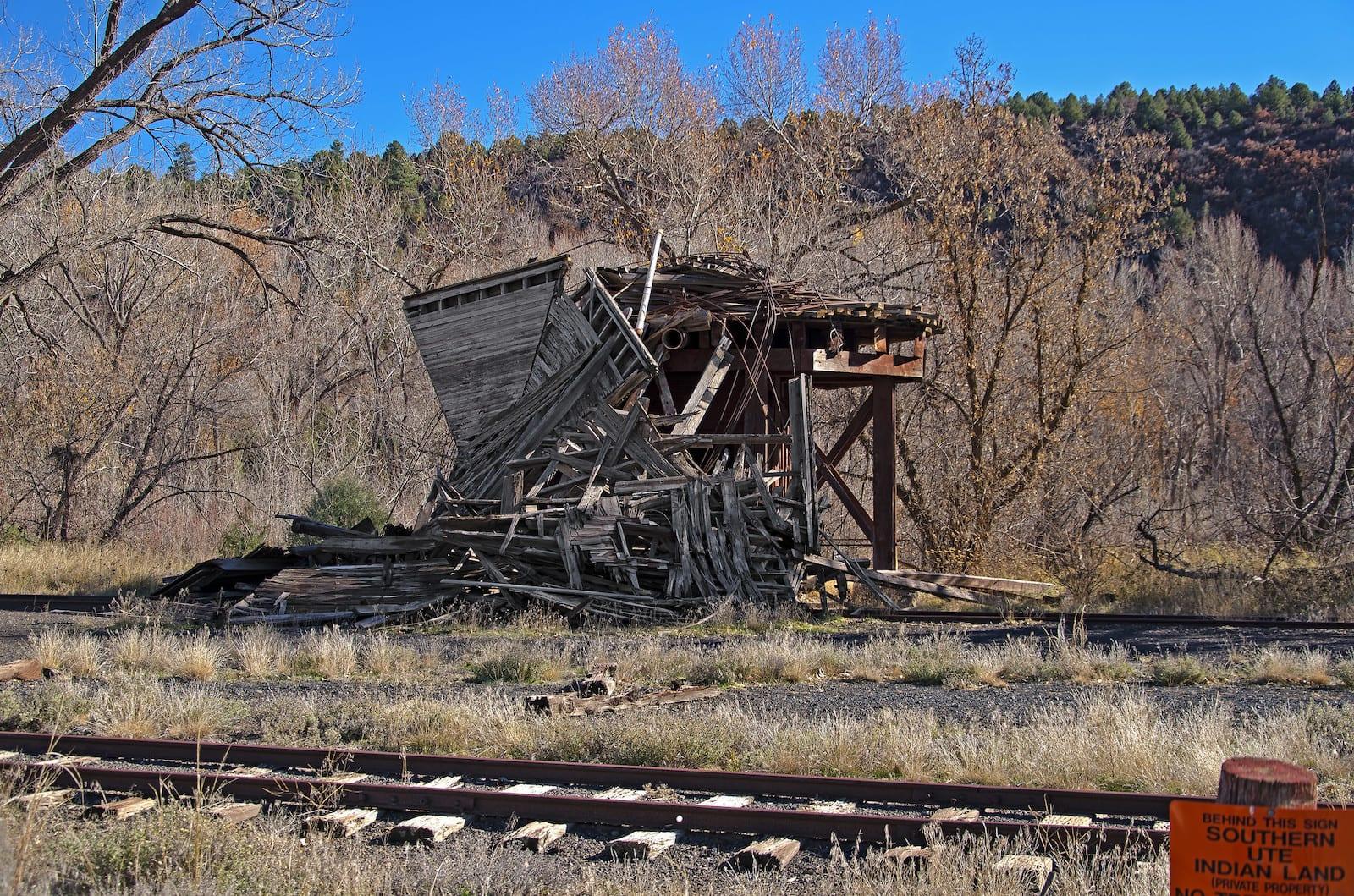 Pagosa Junction Colorado Water Tank