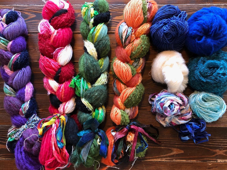 Image of yarn created at Phoenix Fiber Mill in Olney Springs, Colorado
