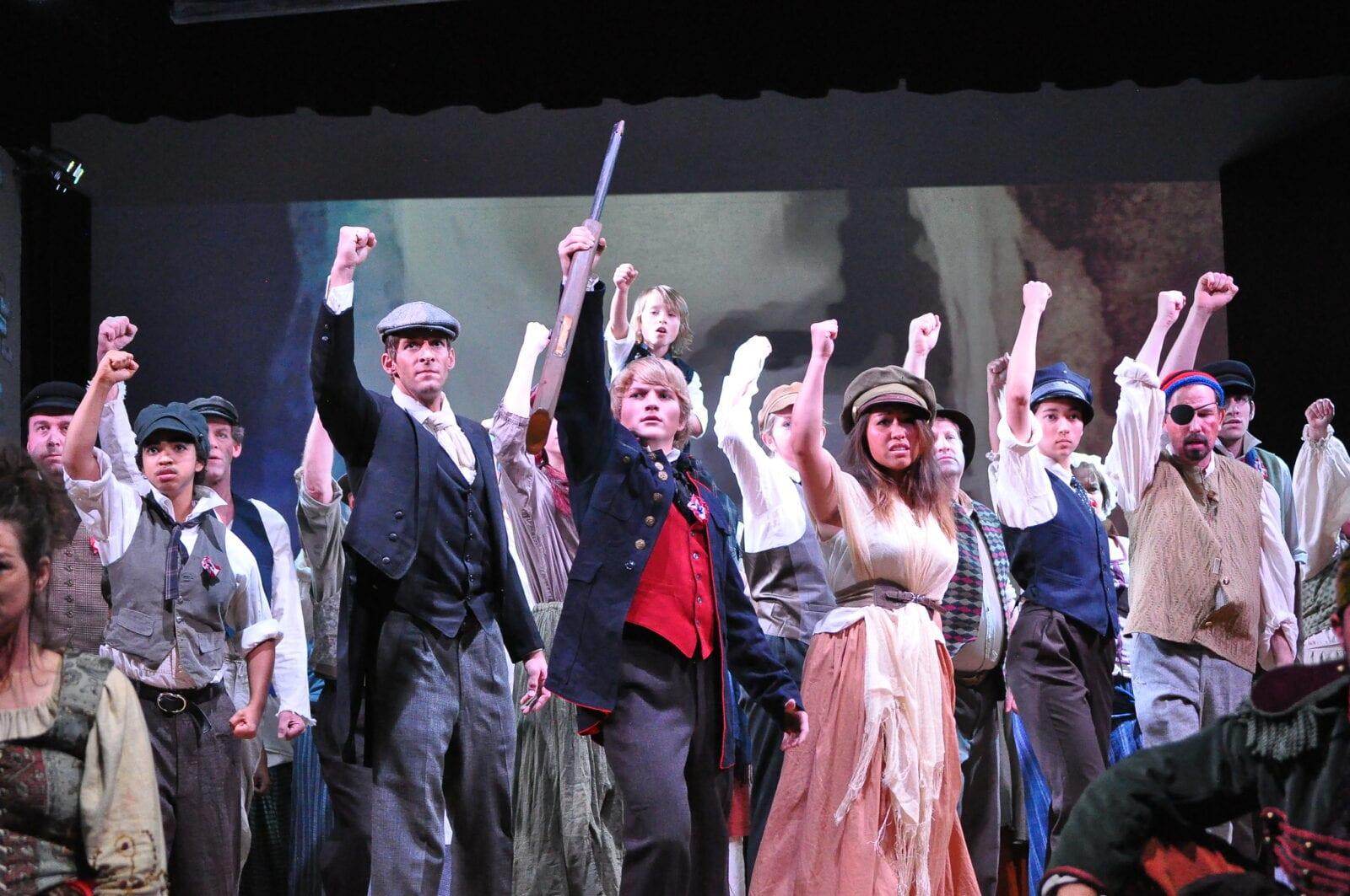 Image of actors performing at the Picketwire Players Community Theatre in La Junta, Colorado