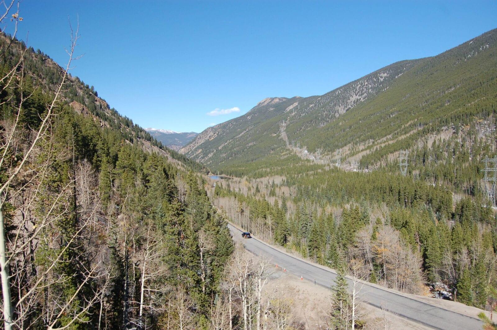 Image of the Guanella Pass near Geneva City, Colorado