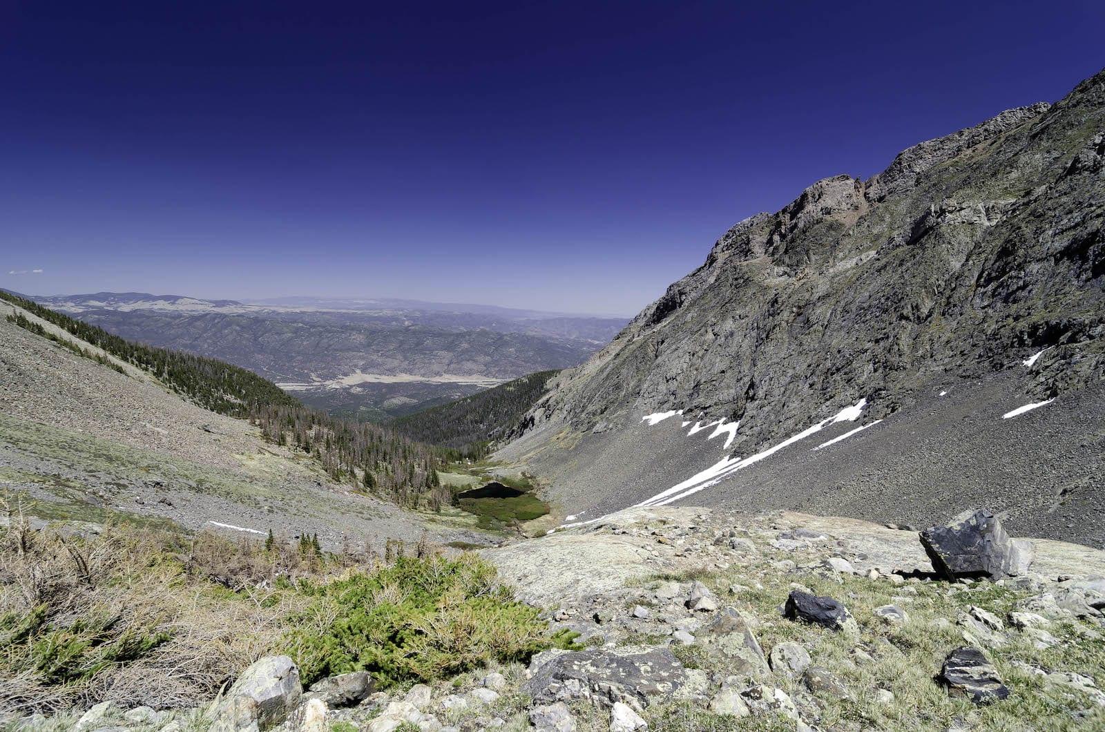 Hutan Belantara Sangre de Cristo Colorado