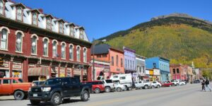 image of downtown silverton