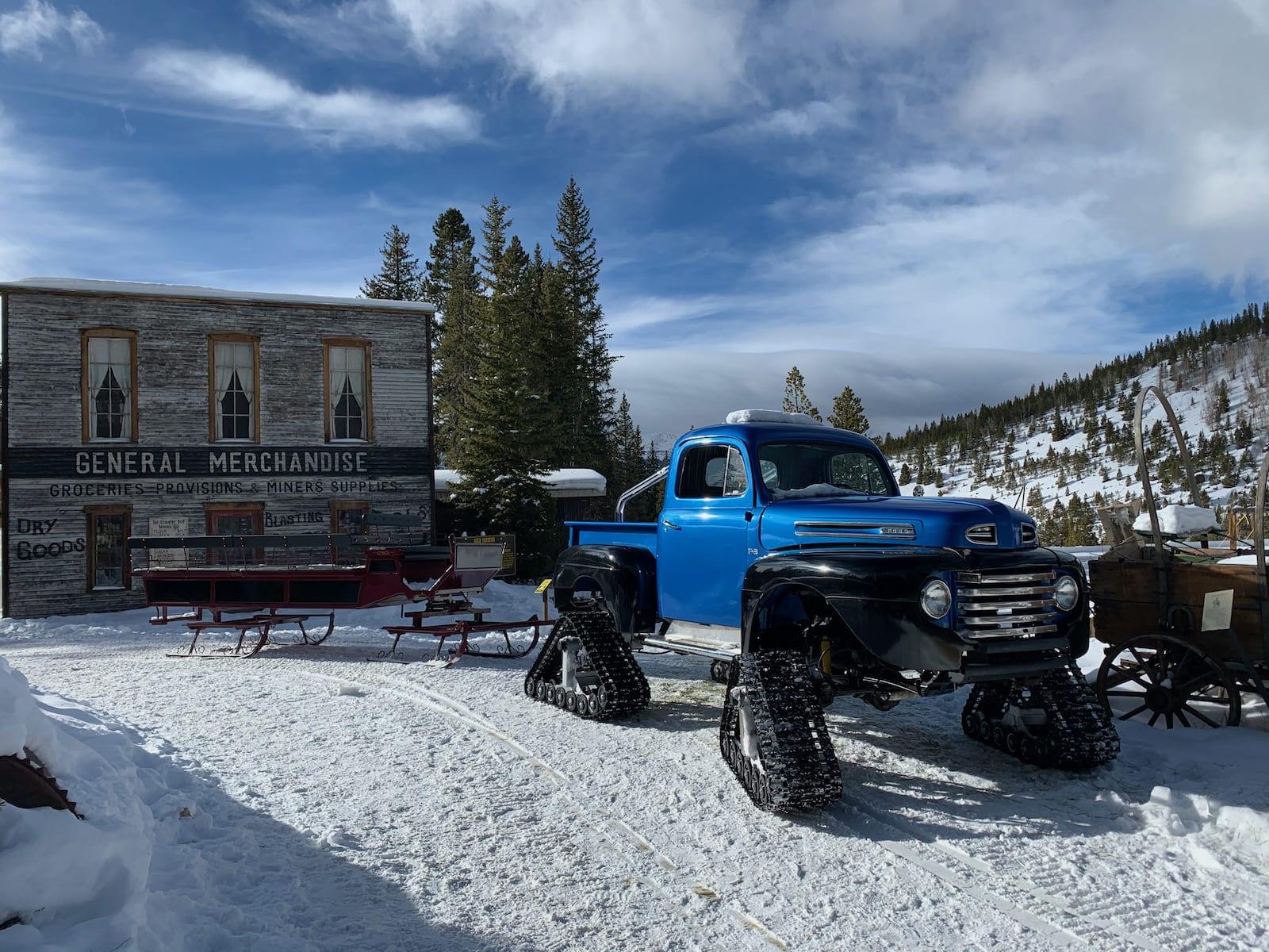Summit County Monster Truck Sleigh Rides Breckenridge CO