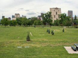 Image of the Sunken Gardens Park in Denver, Colorado