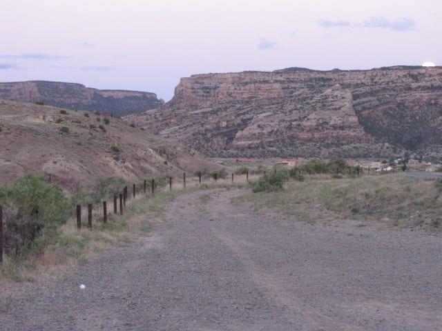 Jalur Lintas Alam Tabeguache Colorado