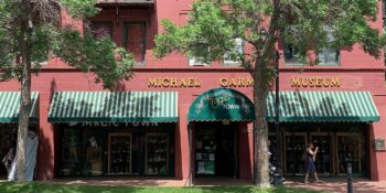 Image of the outside of the Michael Garman Museum and Gallery in Colorado Springs, Colorado