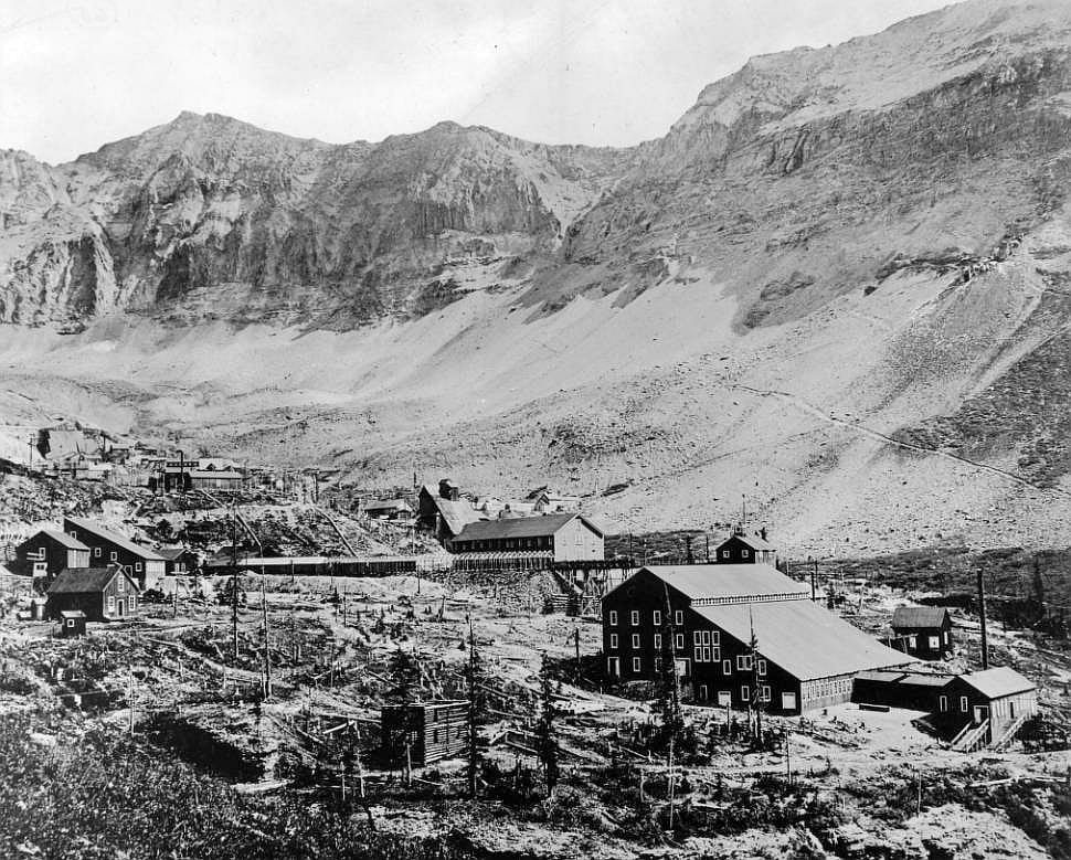 Tomboy Mine and Mill Circa 1890-1910