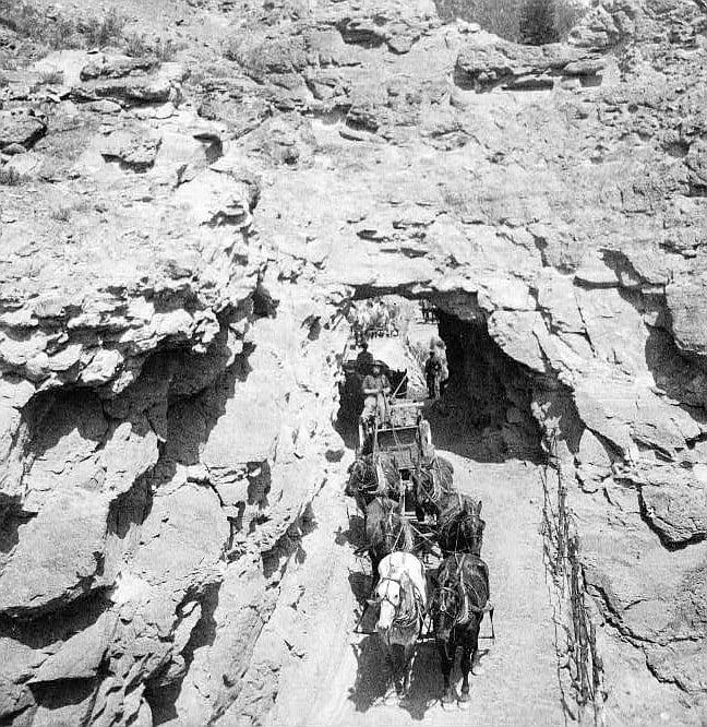 Tomboy Mine Gold Ore Colorado Circa 1910