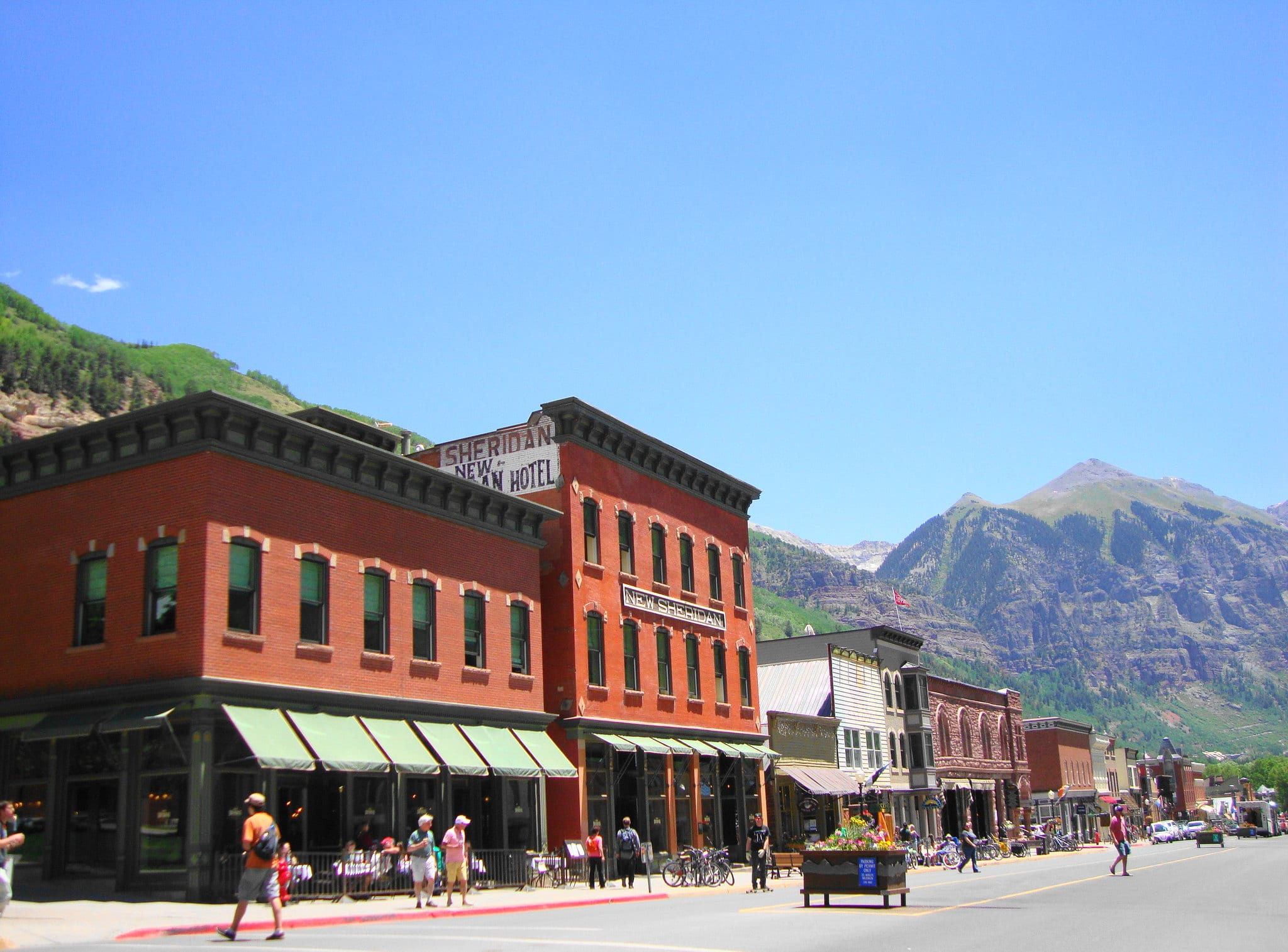 image of downtown telluride