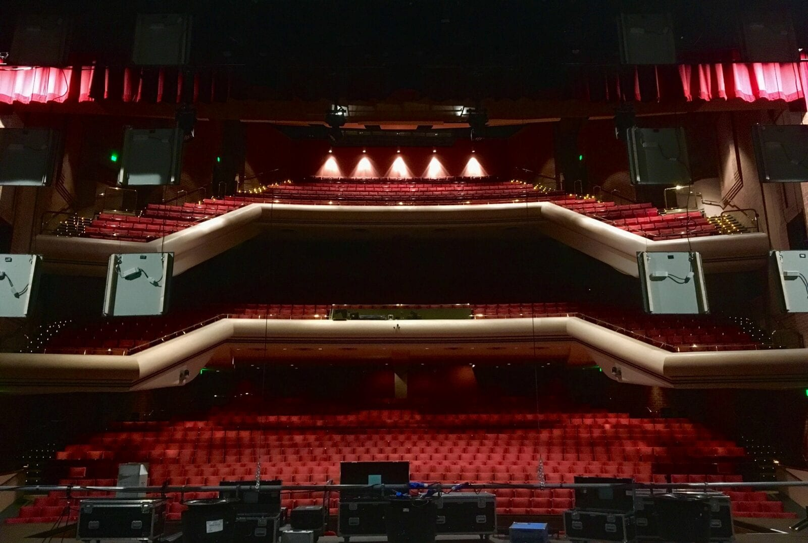 Image of the Union Colony Civic Center in Greeley, Colorado Monfort Concert Hall