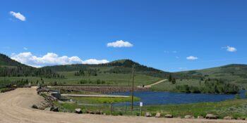 Willow Creek Dam Colorado