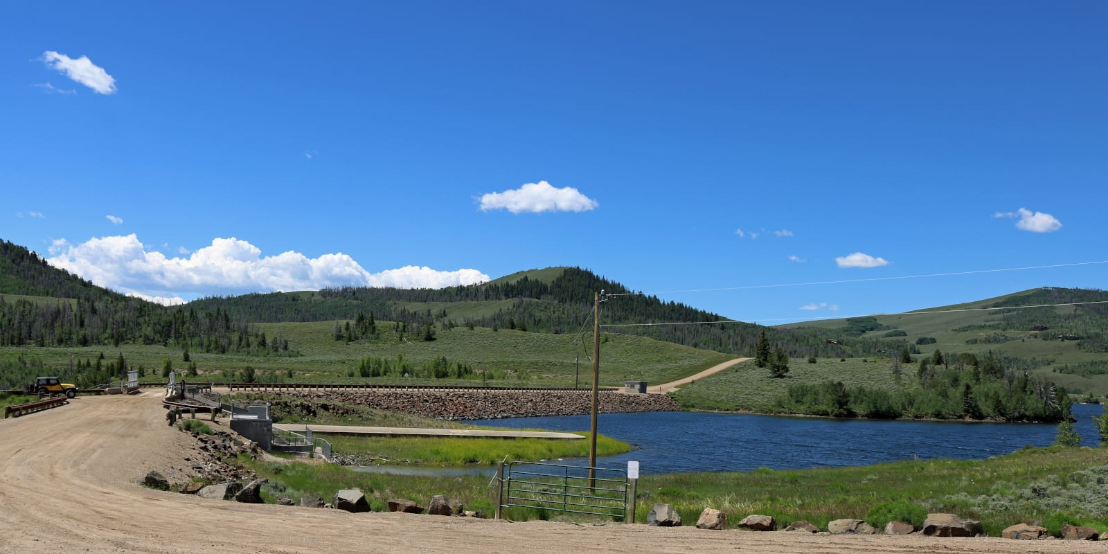 Willow Creek Dam Colorado