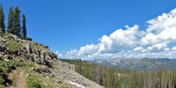 Continental Divide Trail Wolf Creek Pass