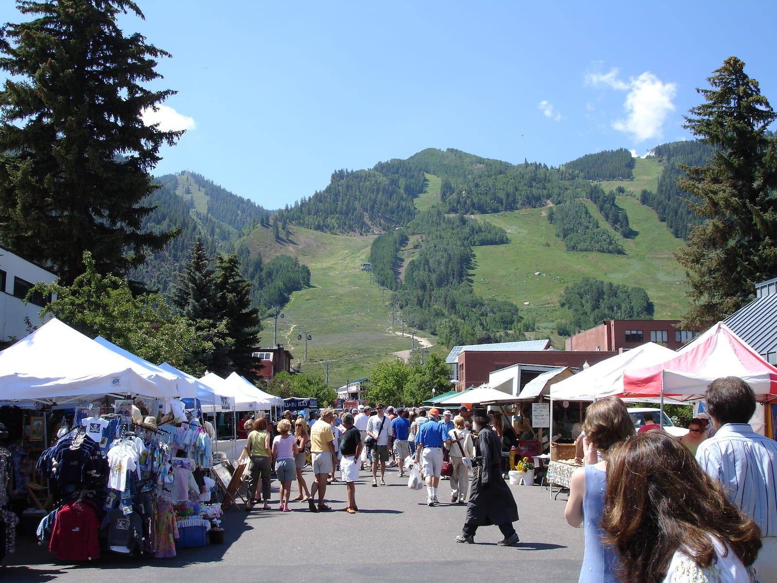 Aspen Farmers Market, CO