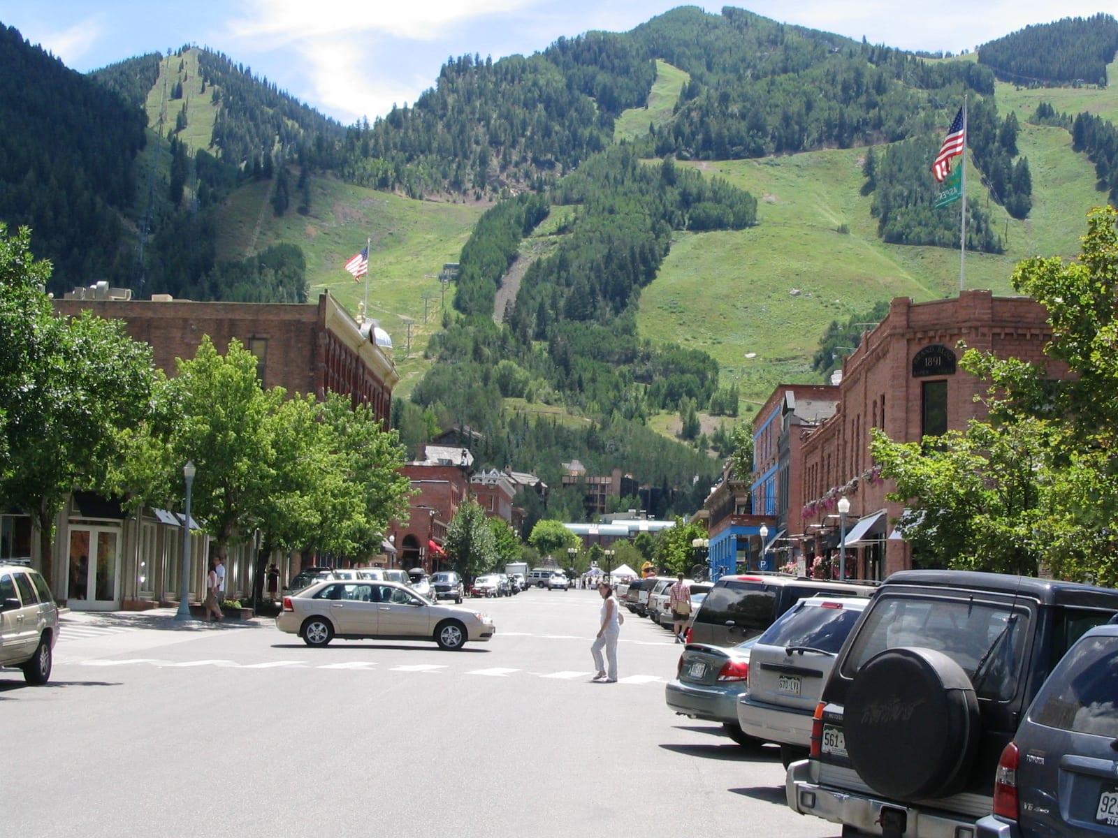 Aspen downtown, Colorado